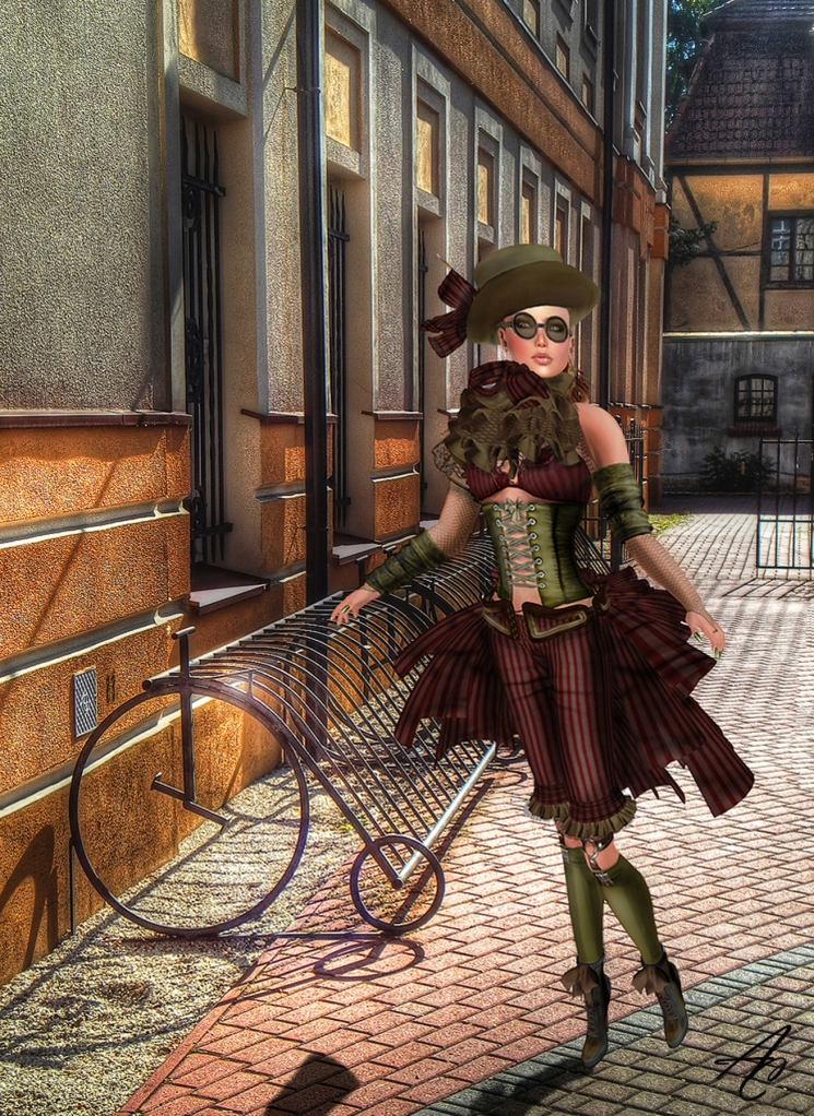 Ava Steampunk bike AC