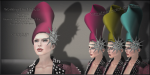 Working the Nebula Fascinators Set2