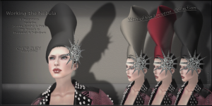 Working the Nebula FascinatorsSet1