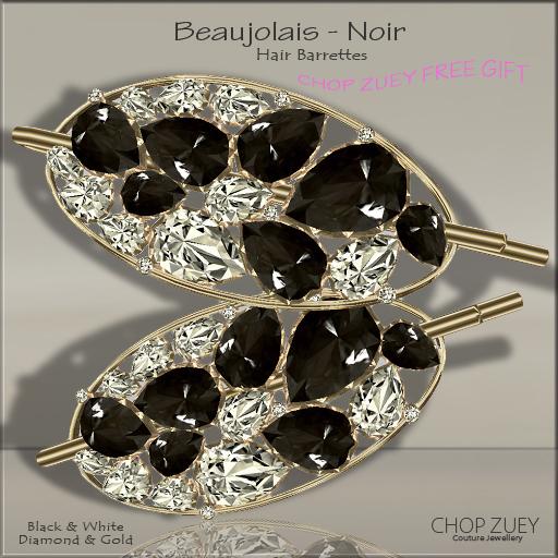 BeaujolaisNoirHairBarrette