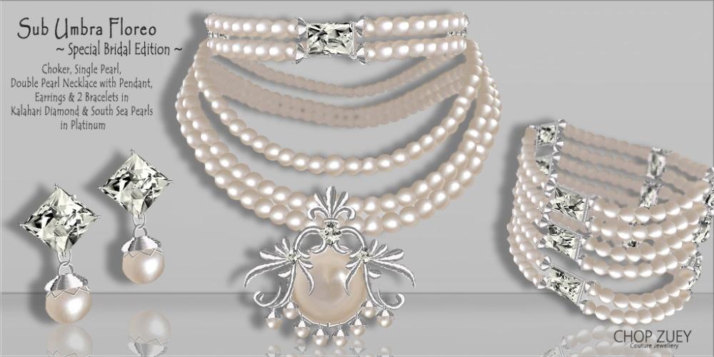 Sub Umbra Floreo Set - Special Bridal Edition