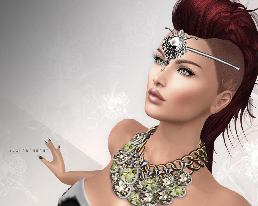 Jewels Greyscale