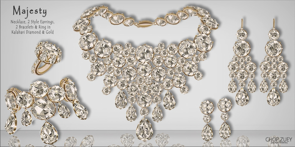 Majesty Diamond Set Gld