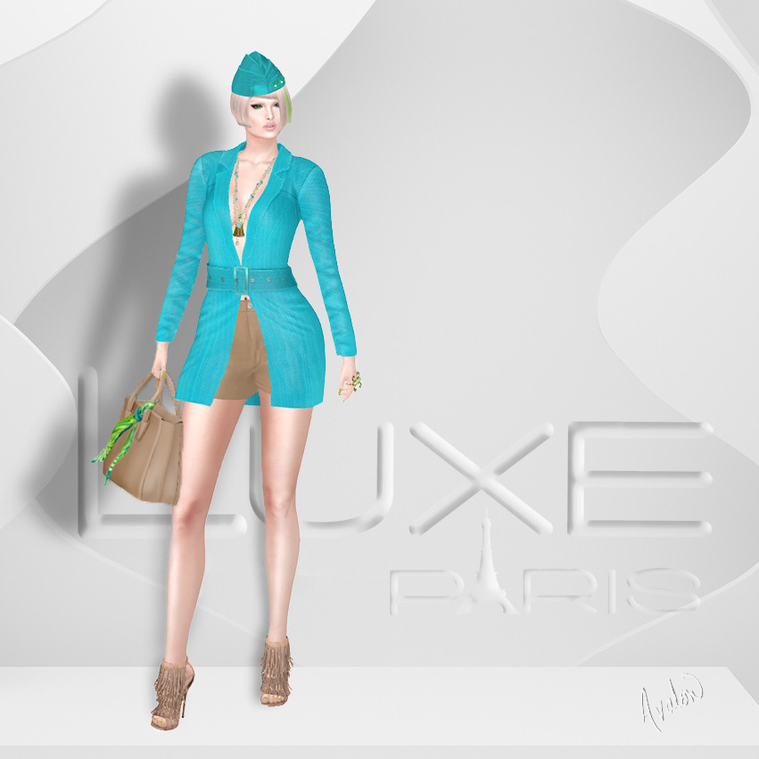 Turquoise luxe One Flat AAA1